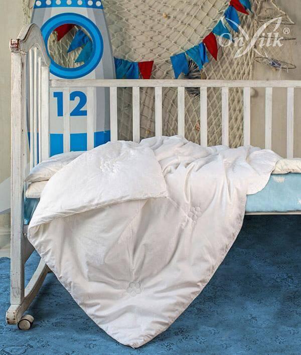 Детское одеяло Onsilk Comfort Premium, среднее - Detskoye-Postelnoe.Ru