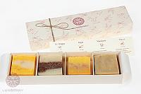 Подарочный набор Rose, Herbal, Silk, Lavander