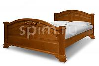 Кровать Шале Леонсия резьба