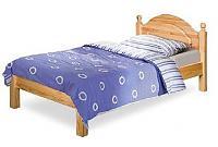 Кровать Бобруйскмебель Лотос с заглушкой  без ножной спинки, Б-1089-08