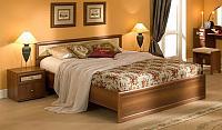 Кровать Глазов Милана 1 с основанием орех (160)