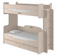 Кровать Интеди Соната (80) двухъярусная, 01.164а
