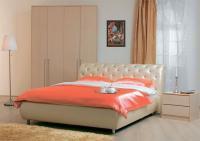 Кровать Сильва Эмили стразы (санни)