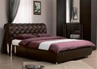 Кровать Сильва Эмили пуговицы с подъемным механизмом (эгоист)