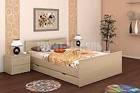 Кровать Юнит-мебель Блюз с ящиками