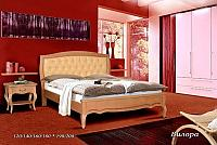 Кровать Альянс XXI век Вилора кожа