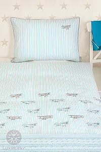 Детское постельное белье Luxberry Aviator, простыня без резинки