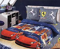 Постельное белье Лидер Ferrari АртПостель
