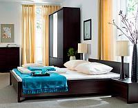 Кровать Каспиан BRW LOZ160