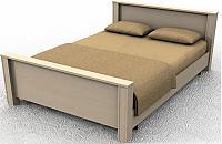 Кровать ГРОС Линда КЛ-7 (160)