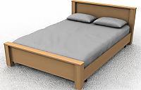 Кровать ГРОС Линда КЛ-2 (90)