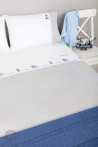 Детское постельное белье Luxberry Sea dreams, простыня на резинке