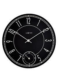 Часы настенные Урбаника Leitbring, черные