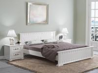 Кровать Райтон Milena сосна (белый, слоновая кость)