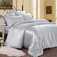 Постельное белье Luxe Dream Голубовато-серый