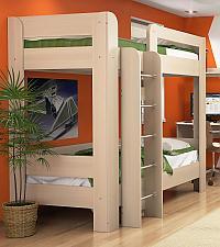Кровать Заречье Вегас В23, 2х ярусная с основанием (90)
