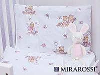 Детское постельное белье Mirarossi Bambine pink