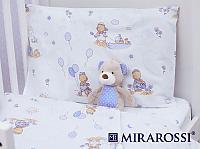 Детское постельное белье Mirarossi Bimbo blue