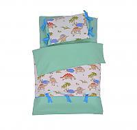 Детское постельное белье Helgi Home Мир динозавров