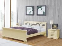 Кровать Райтон Nika береза (белый, слоновая кость)