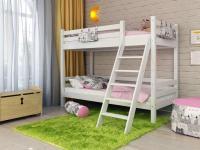 Кровать двухъярусная Райтон Отто-10 с наклонной лестницей