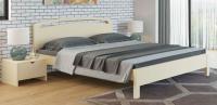 Кровать Райтон Веста 1-тахта-R береза (белый, слоновая кость)