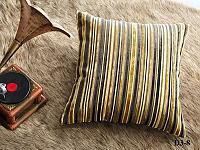 Декоративная наволочка Asabella D3-8, чёрная с золотом