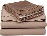 Постельное белье Luxe Dream Светло-Коричневый