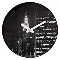 Часы настенные Урбаника The city с 3D эффектом