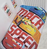 Детское одеяло Disney Тачки McQueen