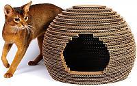 Картонный Cat Home Улей
