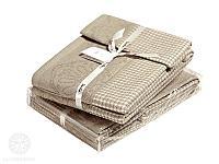 Набор полотенец Luxberry Lille, натуральный