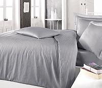 Постельное белье Clasy Stripe Серый