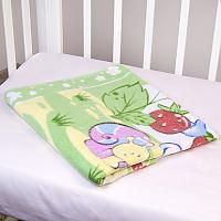 Байковое одеяло ОТК Земляничная поляна