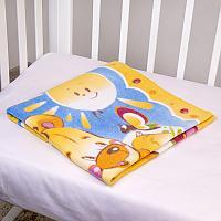 Байковое одеяло ОТК Солнечный мишка