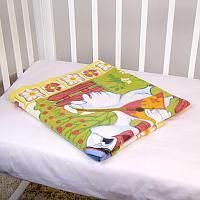 Байковое одеяло ОТК Веселые гуси