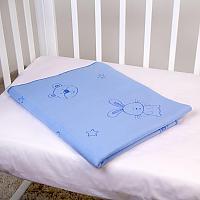 Байковое одеяло ОТК Зайки и мишки
