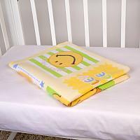Байковое одеяло ОТК Солнышки