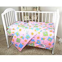 Детское постельное белье ОТК Котята и Цыплята