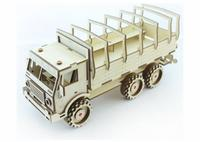 Конструктор 3D-Пазл Lemmo Военный Грузовик, арт. ГР-5