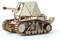 Конструктор 3D-Пазл Lemmo Танк СУ-18, арт. 00-24