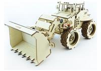 Конструктор 3D-Пазл Lemmo Трактор Бульдог, арт. Б-1
