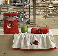 полотенец Karna Lemon V1 45x65 см, красный