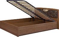 Кровать Ижмебель Лондон с подъемным механизмом (160) и мягким элементом, мод 29