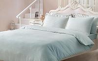 Жаккардовое постельное белье Tivolio Jaquard, бирюзовое