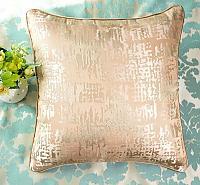 Декоративная подушка Asabella D6-1, жемчужно-бежевая