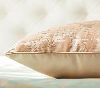 Декоративная подушка Asabella D7-1, жемчужно-бежевая