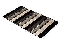 из 2-х ковриков Arya Ecotrend Karmasa, черный-белый