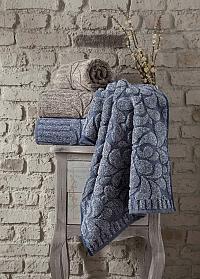 Полотенце Arya Ponca, синее