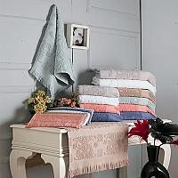 Купить полотенце Arya Полотенце Arya С Бахромой Isabel Soft Темно-Бежевый